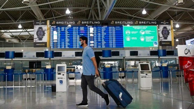 Παράταση ΝΟΤΑΜ: Μόνο οι ουσιώδεις πτήσεις στα αεροδρόμια της χώρας
