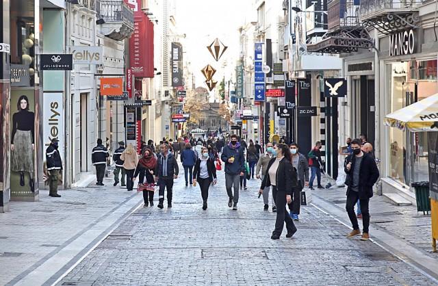 Αρνητικό το καταναλωτικό κλίμα στην Ελλάδα το β' εξάμηνο 2020