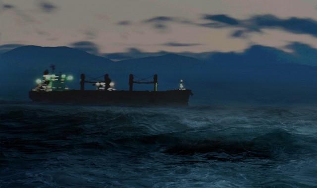 Nαυάγιο φορτηγού πλοίου στη Μαύρη Θάλασσα