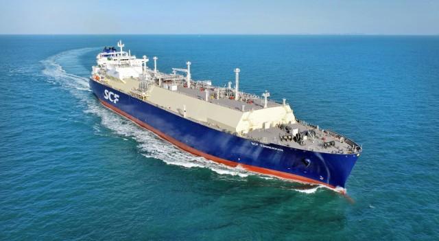 Sovcomflot: Παραλαβή νεότευκτου LNG carrier
