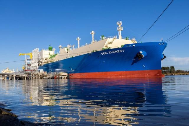 Γεγονός η μεγαλύτερη μεταφορά αιθανίου με πλοίο