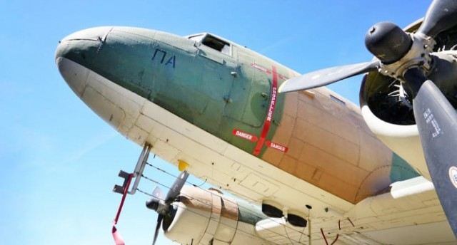 Τρία θρυλικά αεροπλάνα επιστρέφουν στους ελληνικούς αιθέρες