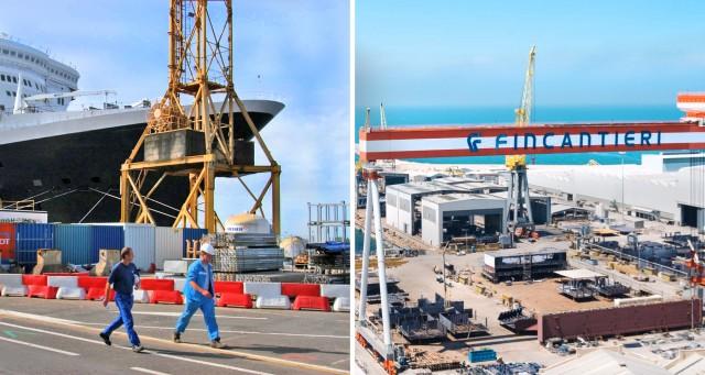 Fincantieri-Chantiers de l'Atlantique: Συγχώνευση ήταν και πάει