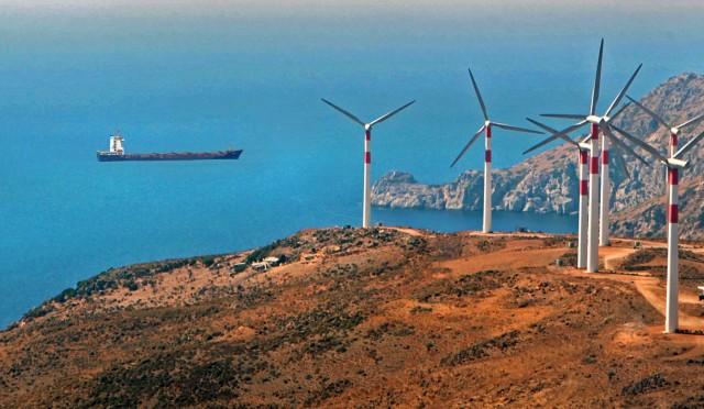 Ρεκόρ για την αιολική ενέργεια στην Ελλάδα το 2020