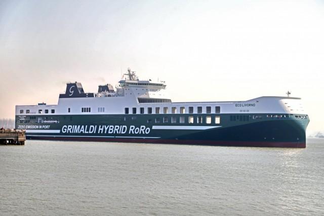 Grimaldi: Ένα ακόμα υβριδικό Ro-Ro πλοίο στον στόλο της