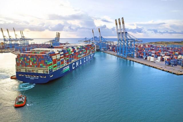 Η CMA CGM ενισχύει τη στρατηγική της θέση στη Μεσόγειο