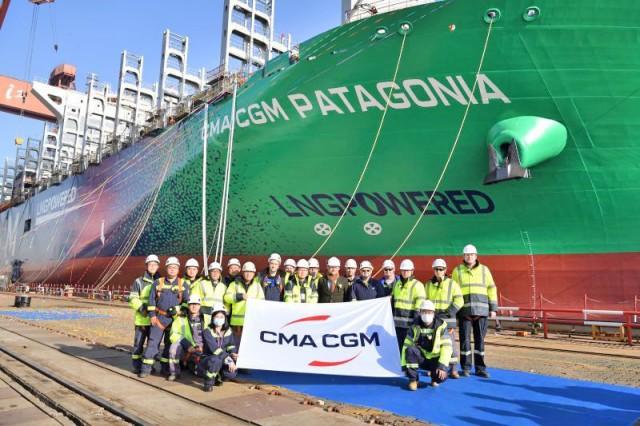 CMA CGM: Έξι νεότευκτα containerships κατανάλωσης LNG