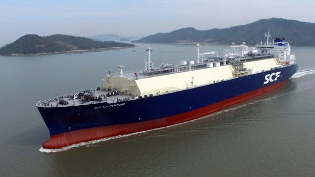Ακόμη ένα νεότευκτο LNG carrier για τη Sovcomflot