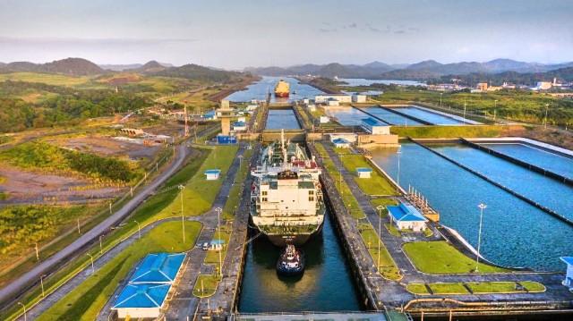 Διώρυγα Παναμά: Νέο ρεκόρ στις διελεύσεις LNG carriers