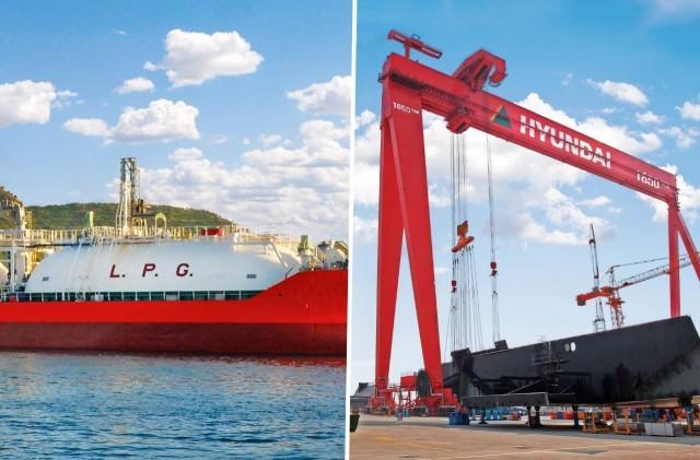 Τα νοτιοκορεατικά ναυπηγεία προσελκύουν τα LPG carriers