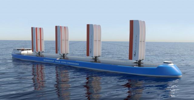 Ένας νέος σχεδιασμός πλοίων μηδενικών εκπομπών