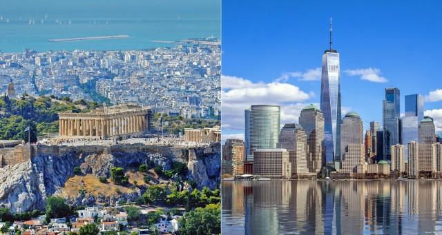 Αθήνα-Νέα Υόρκη: Αντιπαράθεση αεροπορικών γιγάντων