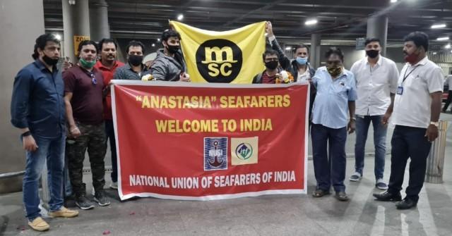 Επαναπατρίστηκαν οι 16 Ινδοί ναυτικοί του «MV Anastasia»