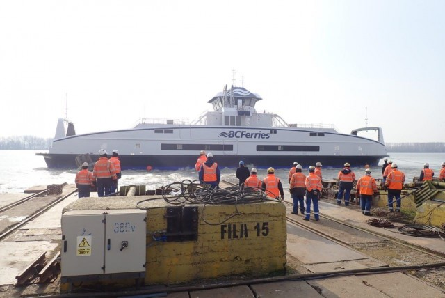 BC Ferries: Στο νερό το πέμπτο υβριδικό πορθμείο χρήσης μπαταριών