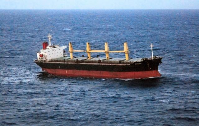 Προσάραξη φορτηγού πλοίου βορειοανατολικά της Ψερίμου
