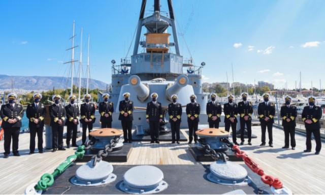H νέα σύνθεση του Ανώτατου Ναυτικού Συμβουλίου