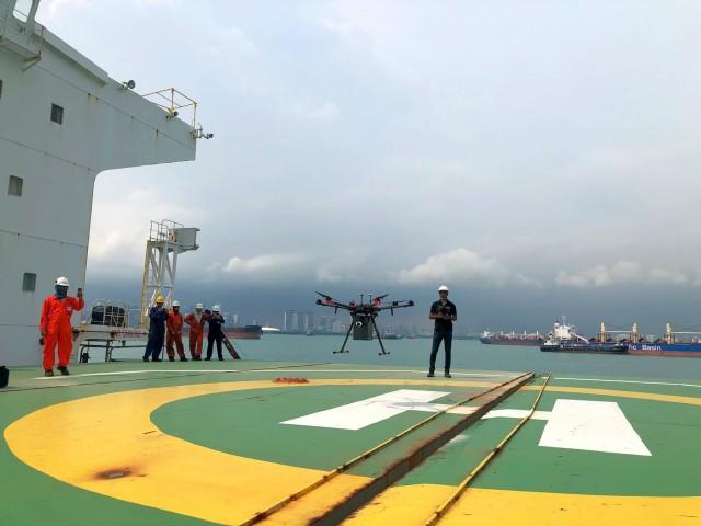 Διαχειρίστριες εταιρείες πλοίων επενδύουν στα drones