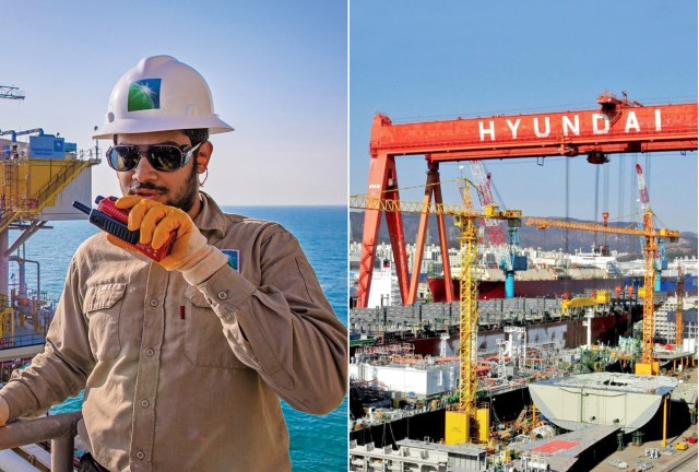 Hyundai Heavy Industries – Saudi Aramco: Η νέα συμφωνία γιγάντων με επίκεντρο το μπλε υδρογόνο