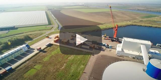 Το νέο διατροπικό τερματικό της MSC στα σύνορα Ολλανδίας-Βελγίου