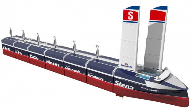 Stena Bulk: Ένας πρωτοποριακός σχεδιασμός πλοίου συνδυασμένων μεταφορών