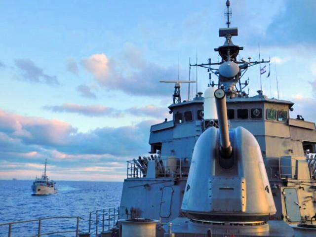 Συνεκπαίδευση της φρεγάτας «Ύδρα» με ισραηλινό πολεμικό πλοίο