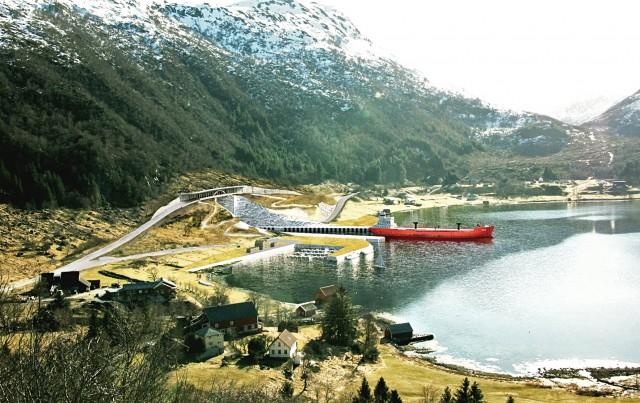 Η πρώτη στον κόσμο σήραγγα αποκλειστικά για διελεύσεις πλοίων