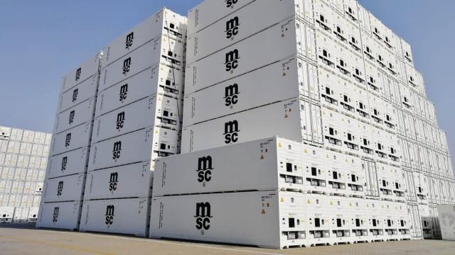 Νέο ρεκόρ στη μεταφορά εμπορευματοκιβωτίων-ψυγείων για την MSC