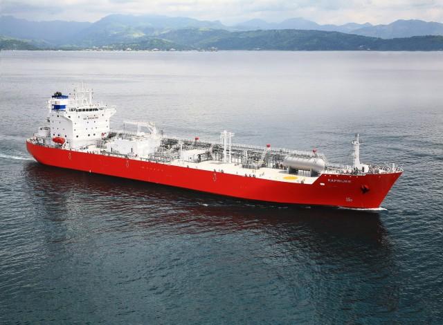 Νέος σχεδιασμός υγραεριοφόρου πλοίου που καταναλώνει αμμωνία ως καύσιμο