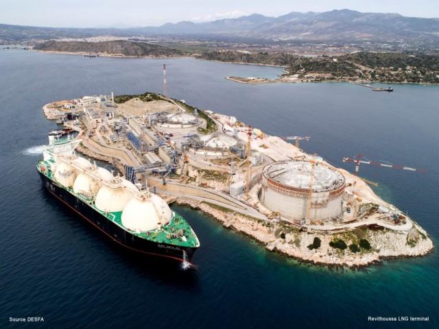 Η MAN Energy Solutions θα παράσχει τις υπηρεσίες της για την αναβάθμιση του τερματικού σταθμού LNG στη Ρεβυθούσα