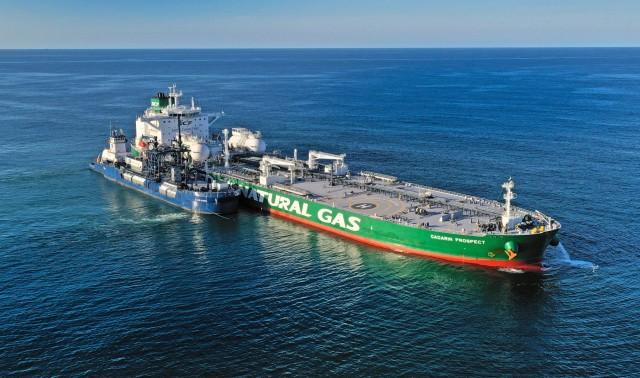 Η πρώτη τροφοδοσία LNG καυσίμου σε Aframax tanker στις ΗΠΑ