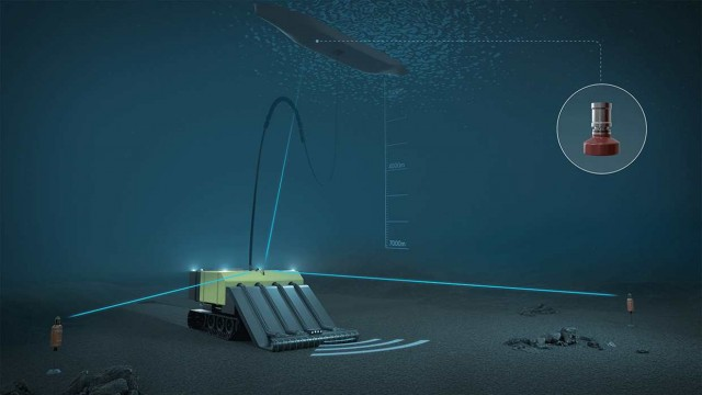 Kongsberg: Νέο εργαλείο εντοπισμού θέσης υποβρύχιων οχημάτων