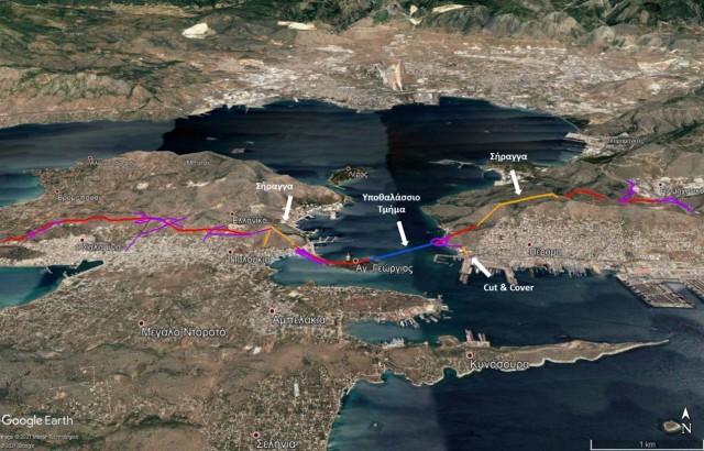 Κατάθεση της περιβαλλοντικής μελέτης για την Υποθαλάσσια Οδική Ζεύξη Σαλαμίνας