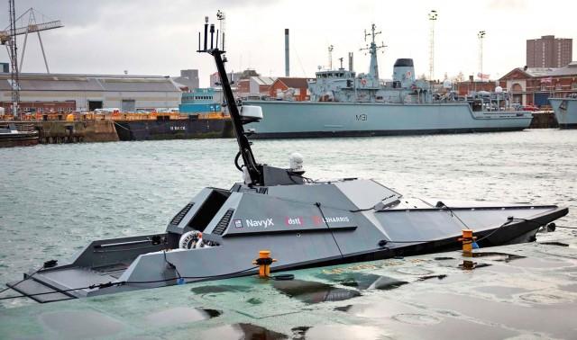 Ένα αυτόνομο σκάφος στην υπηρεσία του Βασιλικού Ναυτικού του Ηνωμένου Βασιλείου