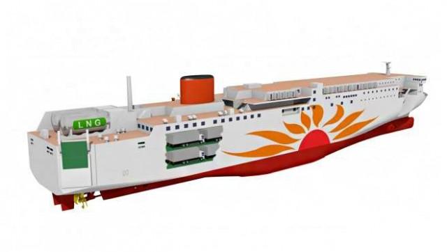 Τα πρώτα ferries κατανάλωσης LNG της Ιαπωνίας