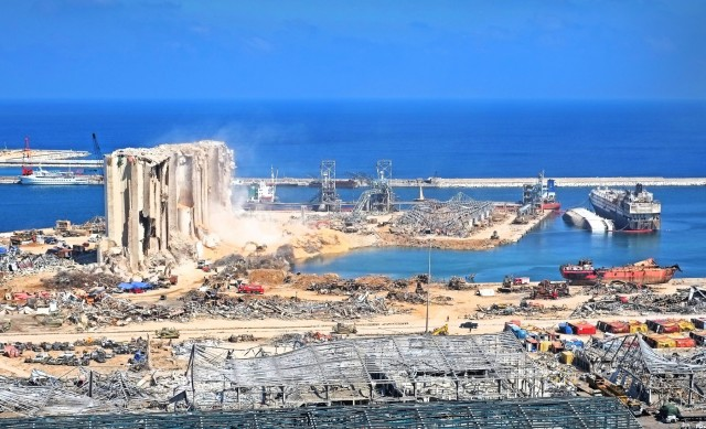 Η πρόταση για την ανακατασκευή του λιμανιού της Βηρυτού