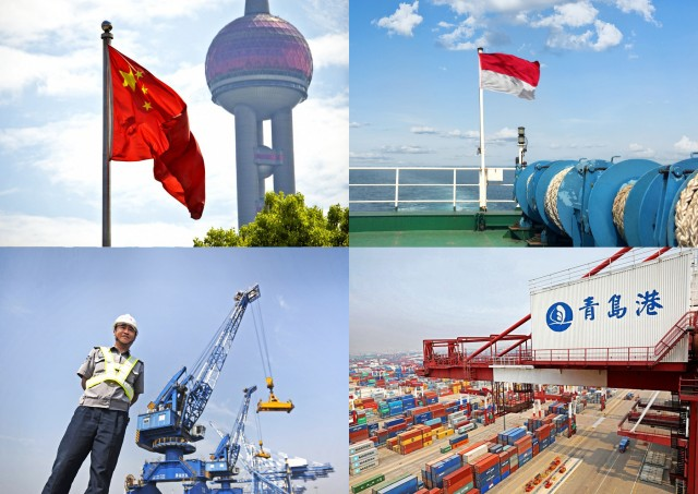 Διεύρυνση της οικονομικής συνεργασίας για Κίνα-Ινδονησία