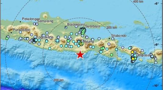 Ινδονησία: Σεισμός 5,9 βαθμών στα ανοιχτά της Ιάβας