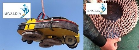 Bevaldia: Σημαντική πρόοδος στις υπηρεσίες υποβρύχιoυ καθαρισμού υφάλων