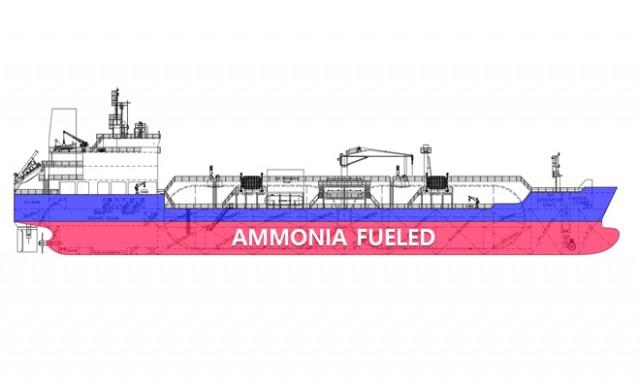 Πρόσω ολοταχώς για το πρώτο πλοίο ανεφοδιασμού καυσίμου αμμωνίας στη Νότια Κορέα