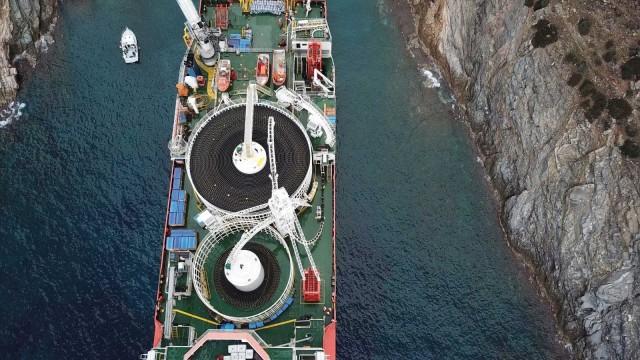 Συνεργασία για την κατασκευή υποβρύχιου καλώδιου για το μεγαλύτερο αιολικό πάρκο στην Ελλάδα