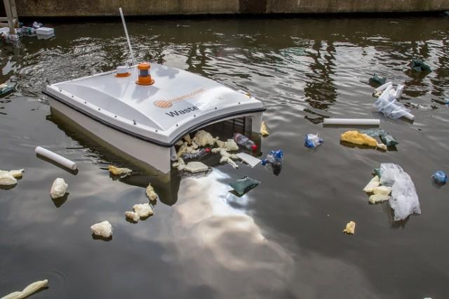 Drones προς τον καθαρισμό ποταμών από σκουπίδια και πετρελαιοκηλίδες
