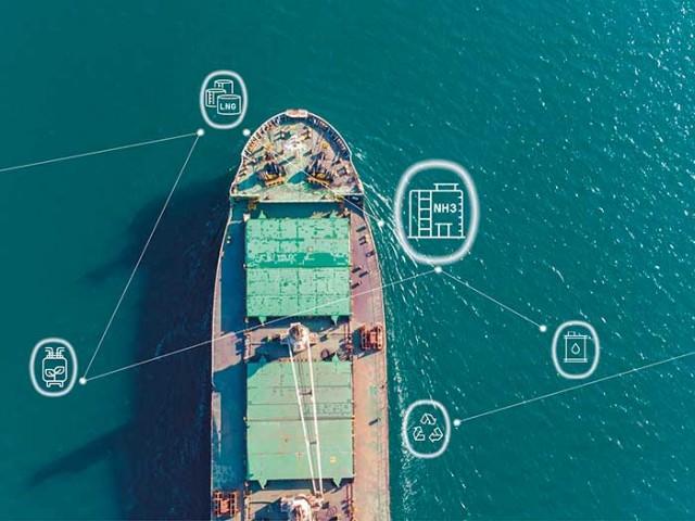 Ο BV προετοιμάζεται για τη μελλοντική χρήση της αμμωνίας ως ναυτιλιακού καυσίμου