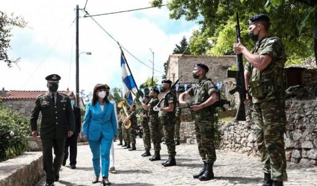 Πρόεδρος της Δημοκρατίας: Τιμάμε σήμερα τους ηρωικούς μάρτυρες της Χίου
