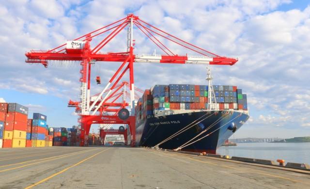 Το μεγαλύτερο containership στην Ανατολική Ακτή των ΗΠΑ και στον Καναδά