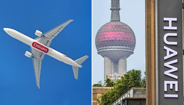 Επέκταση της συνεργασίας για Emirates και Huawei