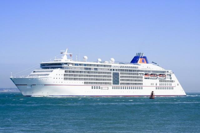 Βόλος: Στο λιμάνι το πρώτο κρουαζιερόπλοιο για τη σεζόν
