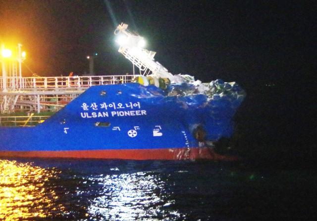 Τρεις αγνοούμενοι ναυτικοί μετά τη βύθιση πλοίου
