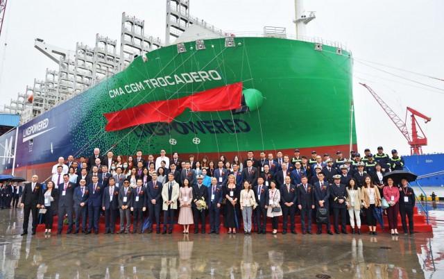 Ένα ακόμη containership καύσης LNG στον στόλο της CMA CGM