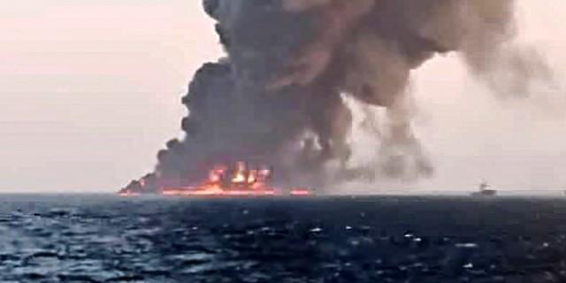 Πυρκαγιά και βύθιση του μεγαλύτερου πολεμικού πλοίου του Ιράν