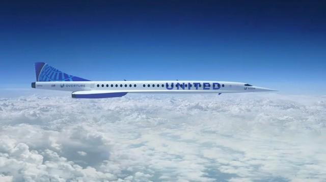 United Airlines: Στο προσκήνιο οι υπερηχητικές πτήσεις επιβατικών αεροσκαφών